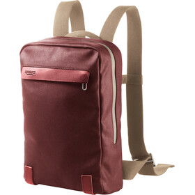 Brooks Pickzip Canvas Backpack small chianti/maroon